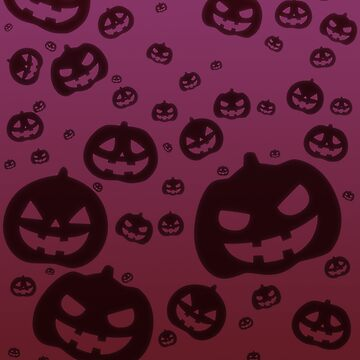 Glow Pumpkins [Purple Version] by jashinhunter