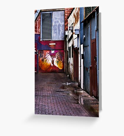 Alley Art Greeting Card