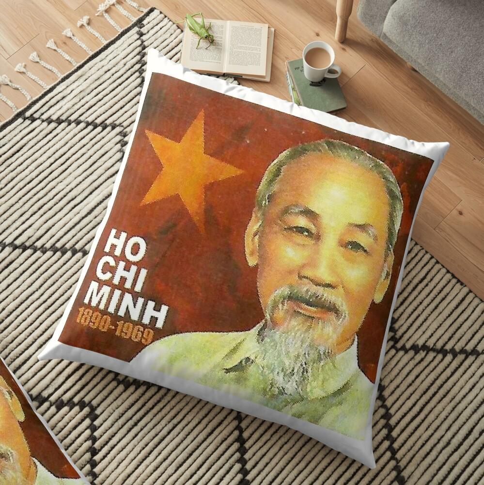 Ho Chi Minh Vietnam Communist Communism Viet Cong Floor Pillow