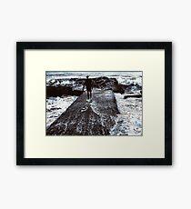 The Old Sea & Man Framed Print