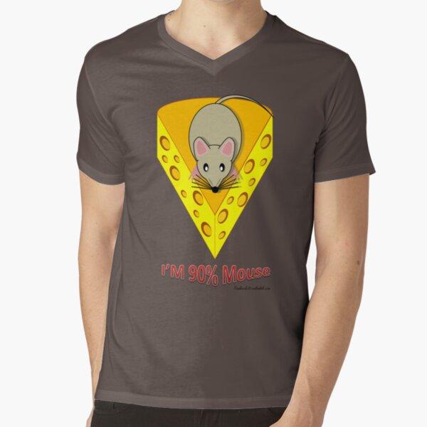Genetic Mouse V-Neck T-Shirt