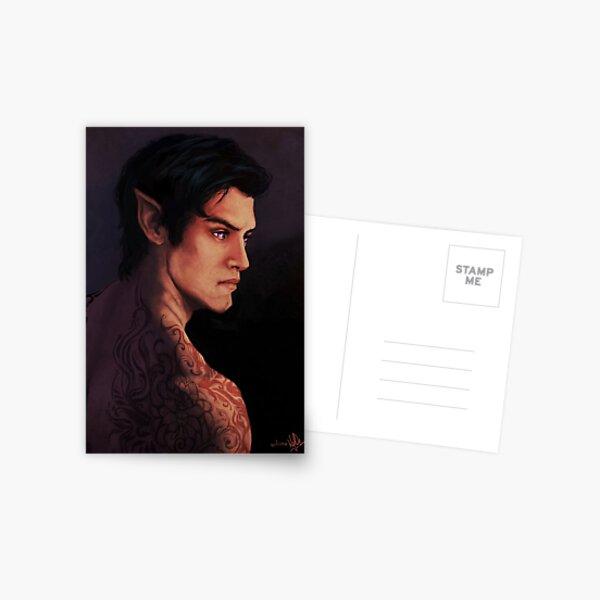Rhysand Rhys Une cour d'épines et de roses Carte postale