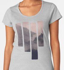 Camiseta premium para mujer HIDDEN HILLS (malva) / Bregenz Forest, Austria
