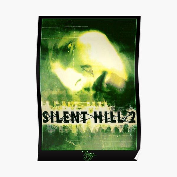 Silent Hill 2 - Ps2 Original Box Art (Green Cover) (Neon) Poster