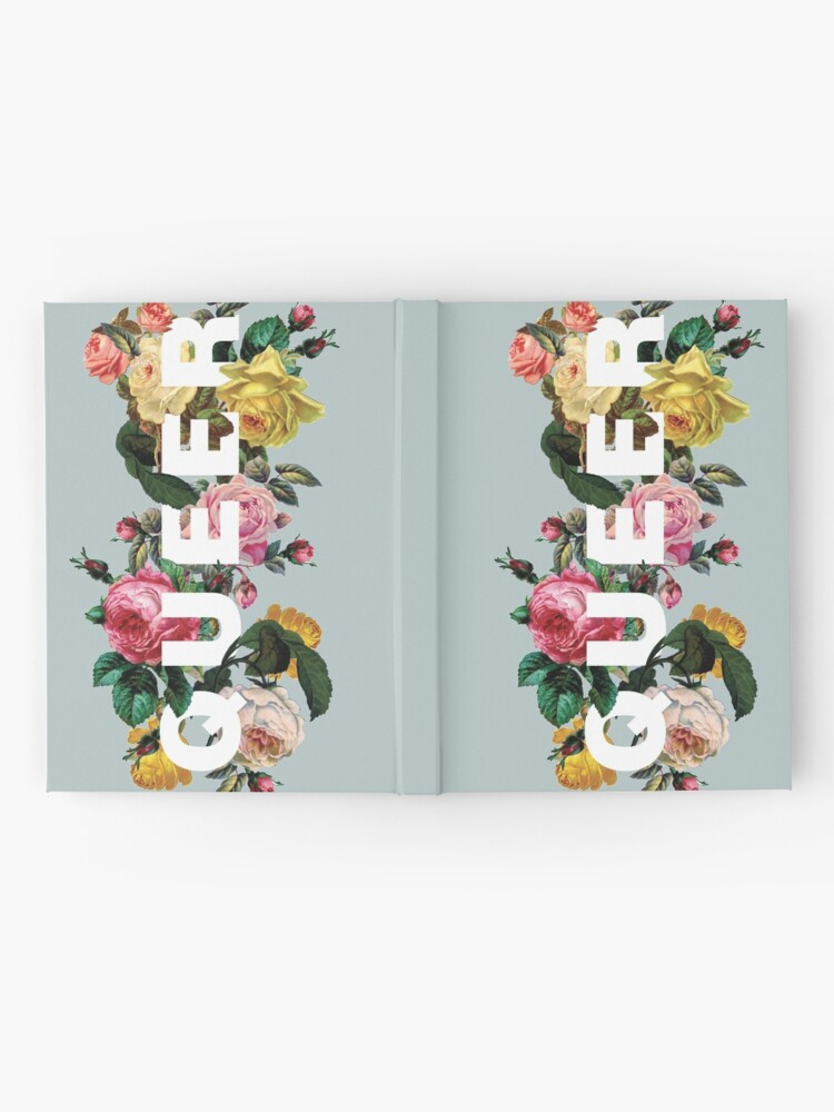 Alternate view of Queer (Antique Roses) Hardcover Journal