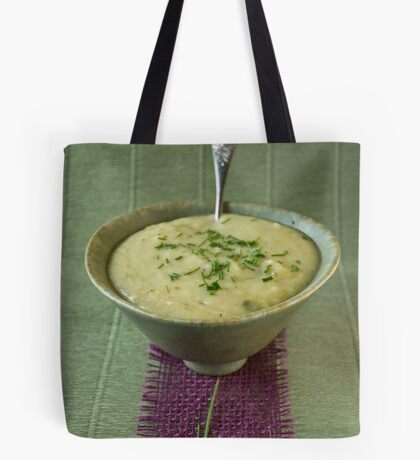 Leek and potato soup Tote Bag