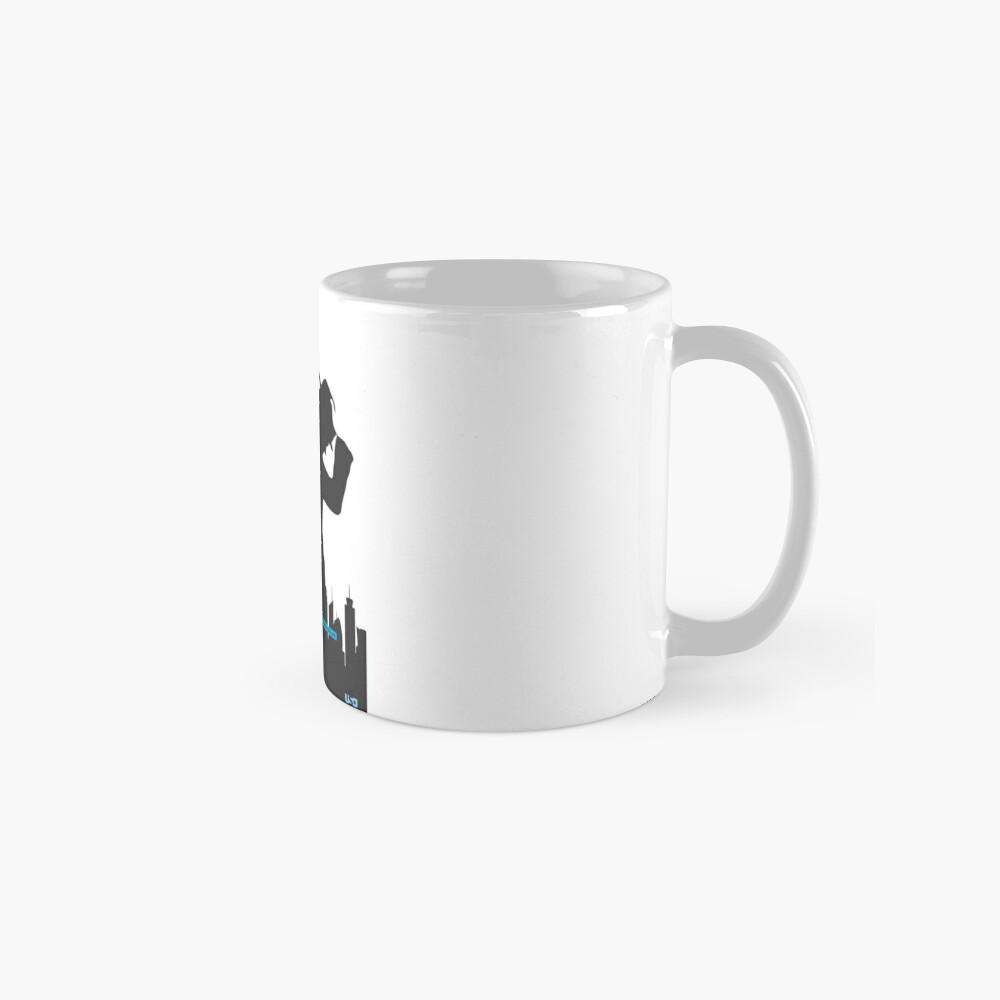 White Collar Mug