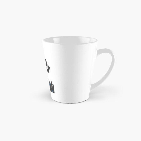 White Collar Tall Mug