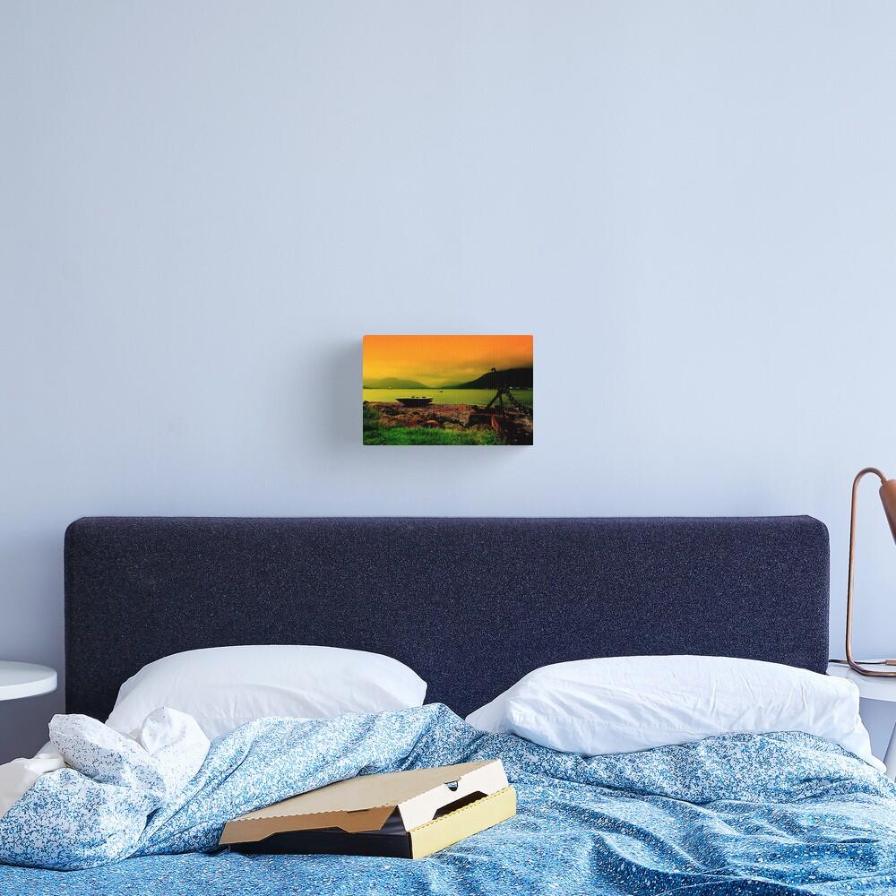 Holy Loch Sunset Canvas Print