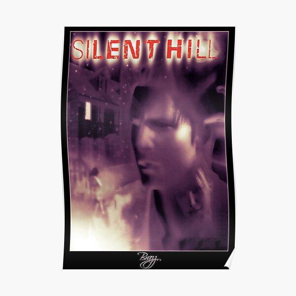 Silent Hill 1 - Ps1 Original Art Box Cover (NA Version) Poster
