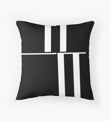 Anxiety Rectangles 1 #abstract #geometry #minimalism #redbubble Throw Pillow