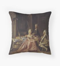 French Renaissance Throw Pillow