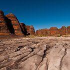 Piccaninny Creek, Purnululu National Park, Australia by Erik Schlogl