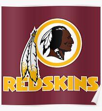 Washington Redskins T Shirts Poster