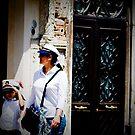 Street Portrait, Venice Italy, #6 by Georgia  Nelson
