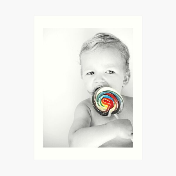 lolly matches summer Art Print