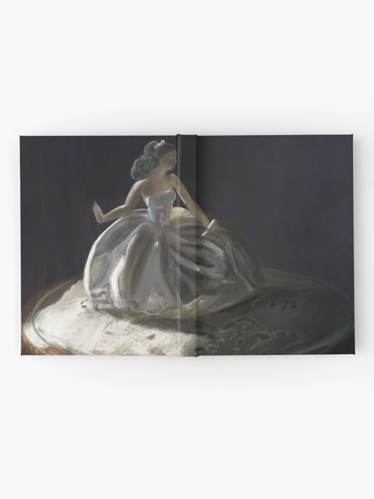 Alternate view of Porcelain Lladro Statue Hardcover Journal
