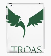 Troas Eagle Green iPad Case/Skin