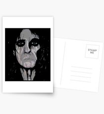 Alice Cooper Painting Postcards
