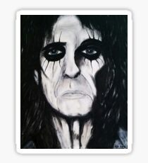Alice Cooper Painting Sticker
