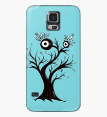 Excited Tree Monster Ink Drawing Case/Skin for Samsung Galaxy