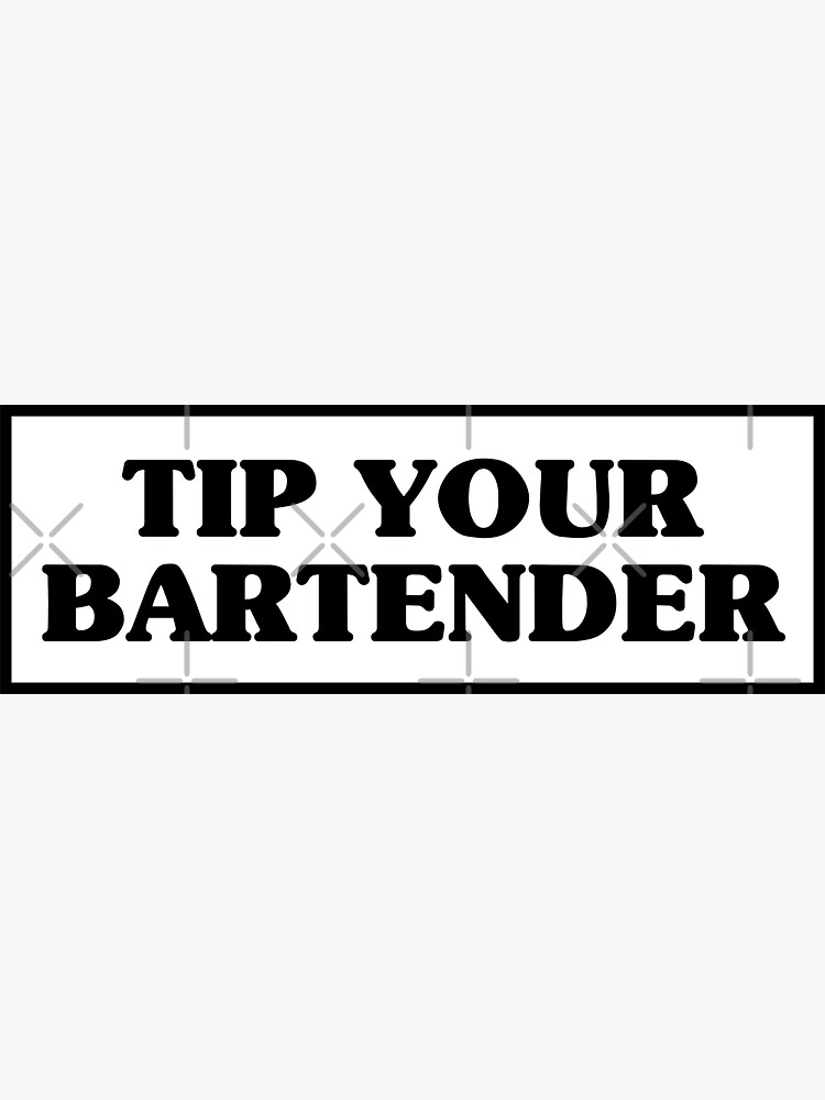 Tip your bartender by kassiopeiia
