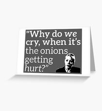 Philomena Cunk: Onions Greeting Card