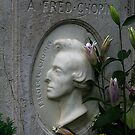 Fred Chopin's Grave in Paris by Keith Richardson