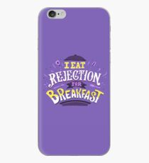 I Eat Rejection For Breakfast - Purple iPhone Case