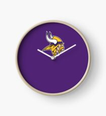 Minnesota Vikings T Shirts Clock