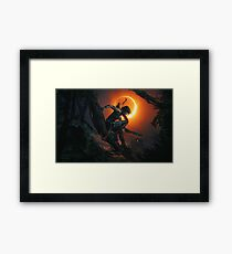 Lámina enmarcada Shadow of the Tomb Raider.