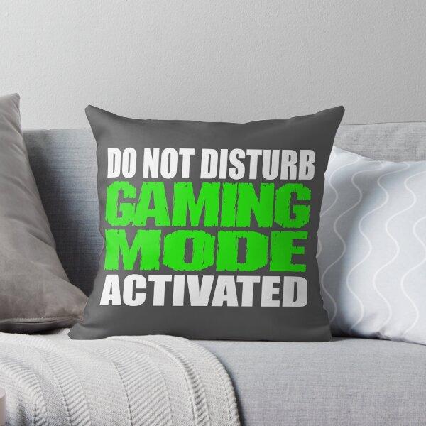 Gaming Mode Throw Pillow