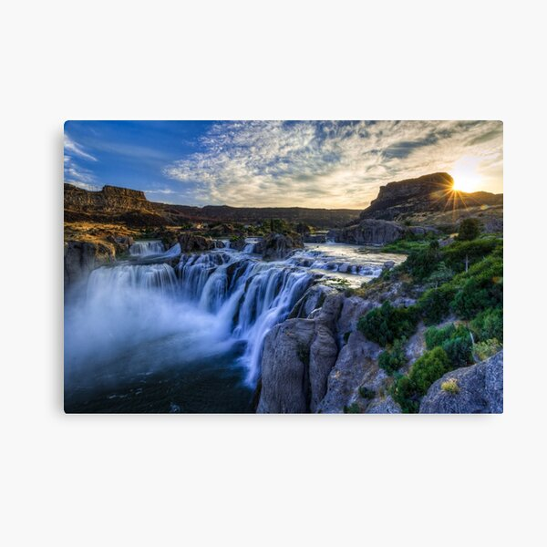 Shoshone Falls - Snake River Canvas Print