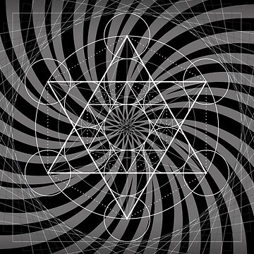 Metatron's Cube - Divine Light Flame (CAXA) by HyperLyght