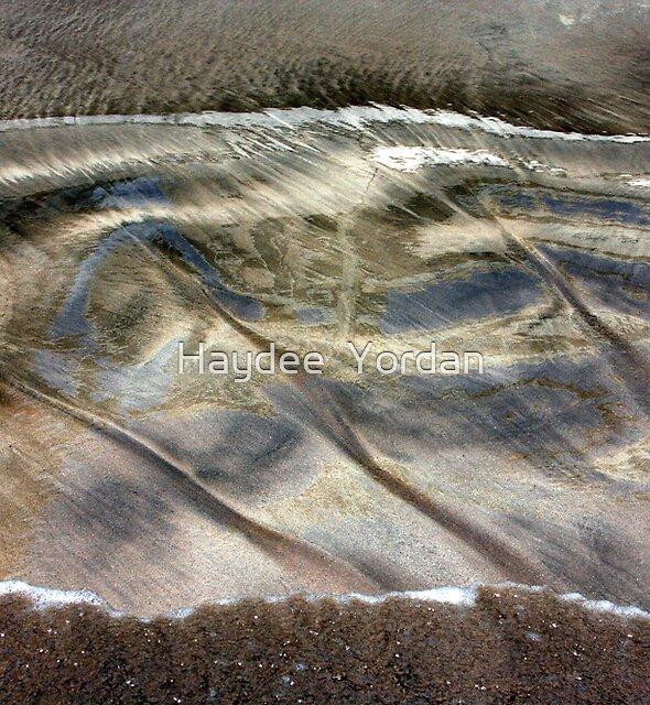 Sand Reflections by Haydee  Yordan