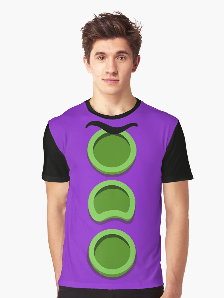 Purple Tentacle - Day of the Tentacle DOTT Graphic T-Shirt Front