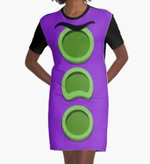 Purple Tentacle - Day of the Tentacle DOTT Graphic T-Shirt Dress
