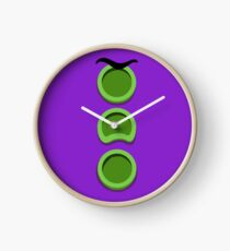 Purple Tentacle - Day of the Tentacle DOTT Clock
