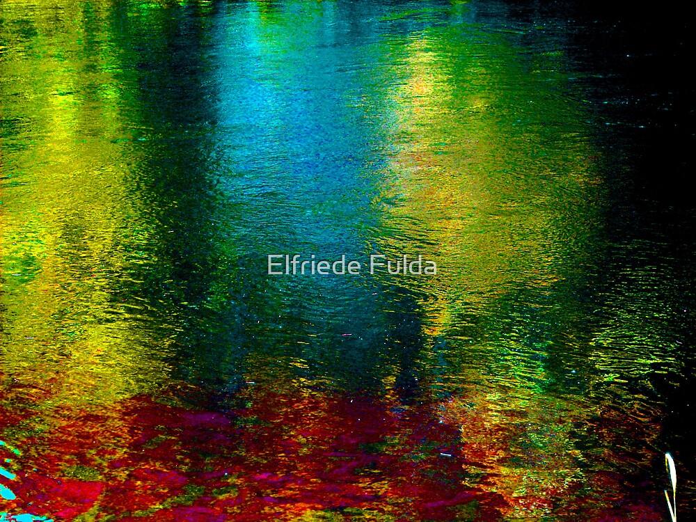 Vertical Rainbow ! by Elfriede Fulda