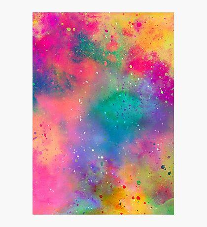 Pluie aquarelle Impression photo