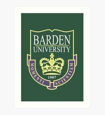 Barden University Art Print