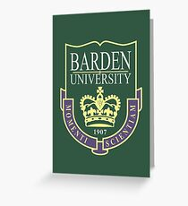 Barden University Greeting Card