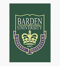 Barden University Photographic Print