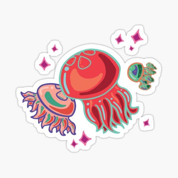 Red Jellies Sticker