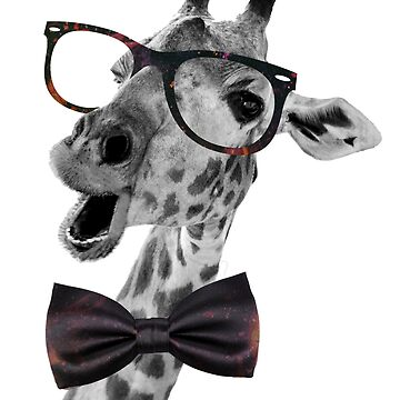 hipster girafe 01 by pitipoy
