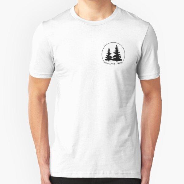 Happy Little Trees Slim Fit T-Shirt