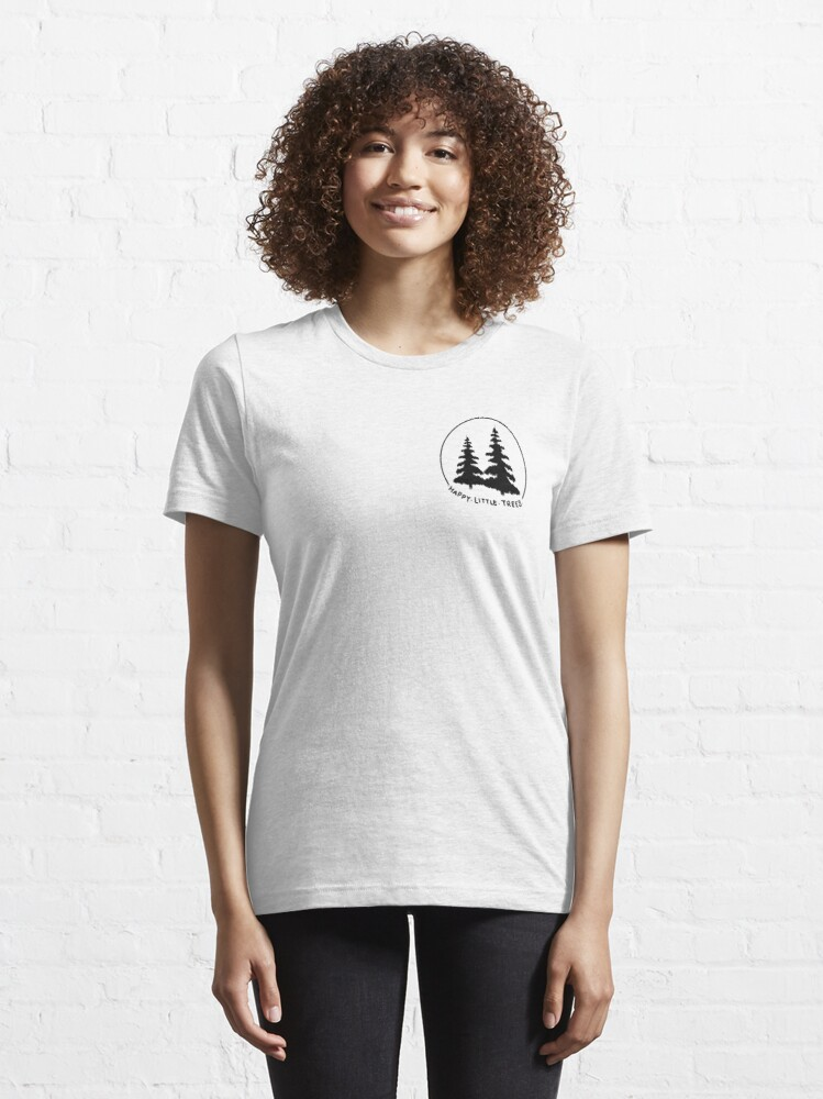 Alternate view of Happy Little Trees Essential T-Shirt