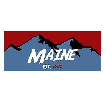 Maine Mountains by AdventureFinder