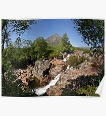 Buachaille Etive Mor , the Highlands , Scotland Poster