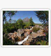 Buachaille Etive Mor , the Highlands , Scotland Sticker